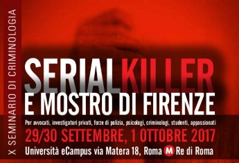 Evento eCampus - Serial killer e mostro di Firenze